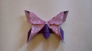 getlinkyoutube.com-How to make Origami Butterfly