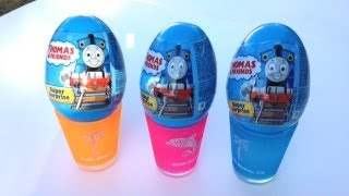 getlinkyoutube.com-Thomas and Friends Super Surprise Eggs with Mini Trains by PleaseCheckOut Channel