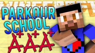 getlinkyoutube.com-Minecraft PARKOUR SCHOOL #1 with Vikkstar, Lachlan & Preston (Minecraft Parkour)
