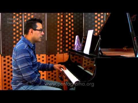 Ejercicios rítmicos para piano (ejercicios de digitación)