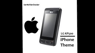 getlinkyoutube.com-LG KP500 iPhone Theme installieren (German/Deutsch)