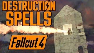 getlinkyoutube.com-Fallout 4 - 5 Destruction Spells - Fire, Ice, Rads, Missiles, & Ender! - Xbox One & PC Mod