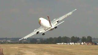 getlinkyoutube.com-Airbus A310 TAP Portugal Air Show 2007  - Rapada nº2 parte 1 / Low Pass 2/1