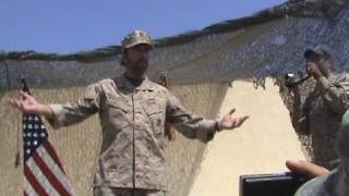 Chuck Norris Visiting Soldiers In Iraq
