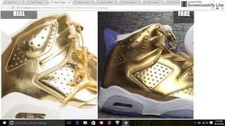getlinkyoutube.com-Real VS Fake Unauthorized Air Jordan 6 Pinnacle: Quick Tips To Avoid Them