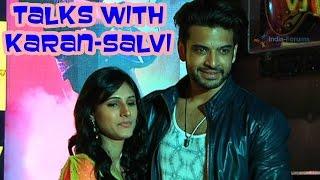 getlinkyoutube.com-Karan Kundra and Salvi Talwar talks about their upcoming show Ye Kaha Aa Gaye Hum