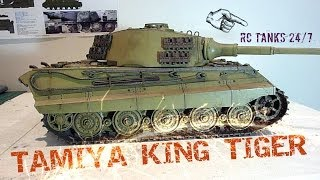 getlinkyoutube.com-Tamiya King Tiger 1/16 RC Tank