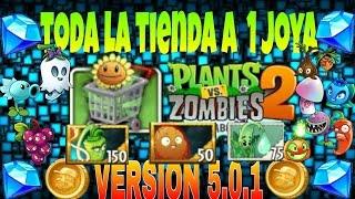 getlinkyoutube.com-Plants vs Zombies 2 COMO TENER TODA LA TIENDA A 1 JOYA VERSION 5.0.1