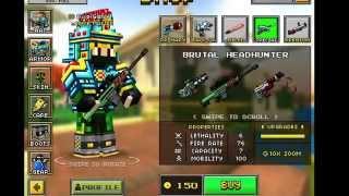 getlinkyoutube.com-Pixel Gun 3-D ( BUYING ALL THE GUNS )