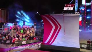 getlinkyoutube.com-Joe Moravsky at American Ninja Warrior 2013 Las Vegas Finals Stage 1
