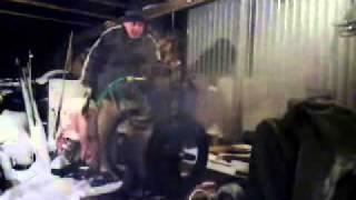 getlinkyoutube.com-Lister CS - Very cold starting Diesel