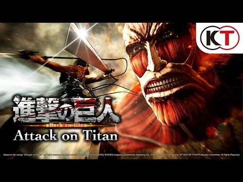 Attack on Titan Teaser Trailer PS4/PS3/Vita Game