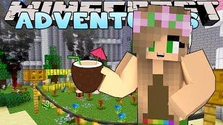 getlinkyoutube.com-Minecraft : Little Kelly Adventures: DISNEY PRINCESS SURPRISE PARTY!