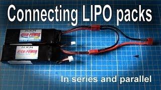 getlinkyoutube.com-Connecting batteries in series or parallel (LIPO)