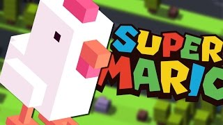 getlinkyoutube.com-CROSSY ROAD - Super Mario Maker