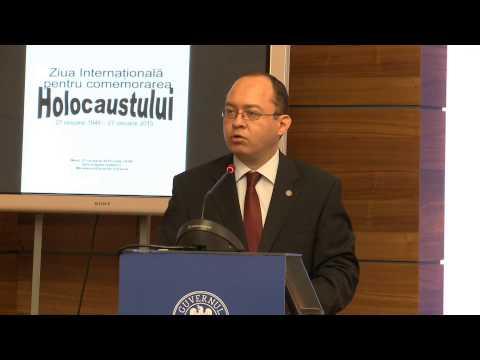 Participarea ministrului Bogdan Aurescu la conferința dedicată Zilei Internaționale de comemorare a Victimelor Holocaustului