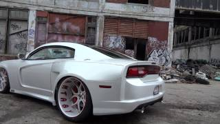 Dodge Charger two door and wide body by Fantasy collision & customs