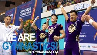 getlinkyoutube.com-2014 Acrobatic Worlds, Levallois (FRA), Finals Day 2 - We are Gymnastics!