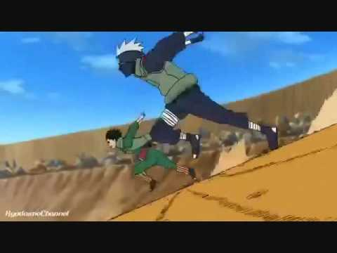 kakashi vs guy