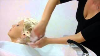 getlinkyoutube.com-Hair&Spa - Touch Therapy Massaggio Shampoo Energy