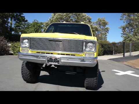 1975 Chevy Stepside Truck