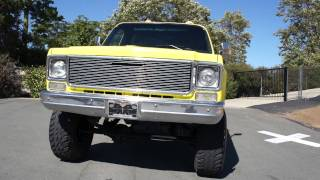 1975 Chevy Stepside Shortbed K10 4X4 C10 pickup Chevrolet GMC