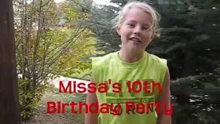 getlinkyoutube.com-Missa's Gymnastics Birthday Party