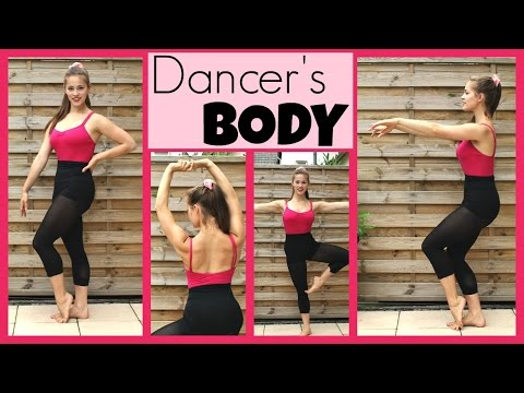 45Min Full Dancer's Body Workout: CORE/BACK/BALANCE+STABILITY