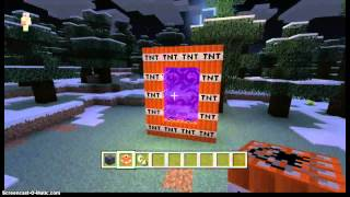 getlinkyoutube.com-minecraft xbox 360 how to make a TNT portal glitch