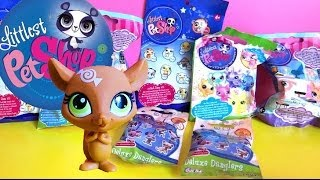 getlinkyoutube.com-8 Littlest Pet Shop Blind Bags Unboxing