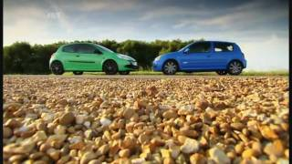 getlinkyoutube.com-Fifth Gear Renault Clio 200 vs 182