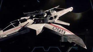 getlinkyoutube.com-Star Citizen Alpha 2.0 PTU - Player Distress Call and amazing battle while EVAing