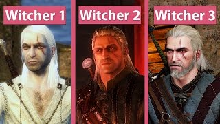 getlinkyoutube.com-Witcher Evolution – The Witcher EE vs. The Witcher 2 EE vs. The Witcher 3 Graphics Comparison