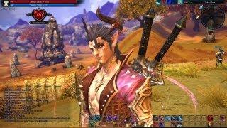 getlinkyoutube.com-TERA Level 24 Warrior solo Gameplay Commentary by FahrosTTTT