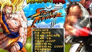 getlinkyoutube.com-Dragon Ball Z Vs Street Fighter by Dbz Supakid [Full Game]