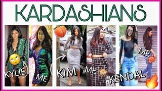 I Dressed Like THE KARDASHIANS | Kylie, Kim, Kendall & Khloe | ThatQuirkyMiss