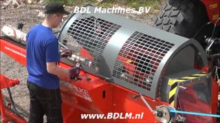getlinkyoutube.com-Hakki Pilke 1X38 EASY Firewood processor Brennholz Säge spaltautomat zaagkloofmachine BDLM.nl
