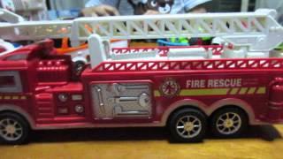 getlinkyoutube.com-รถดับเพลิงของเล่น | Fire Engine Toy