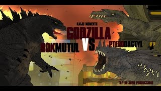 getlinkyoutube.com-GODZILLA VS ROKMUTUL AND PTERODACTYL  KAIJU MOMENTS # 28