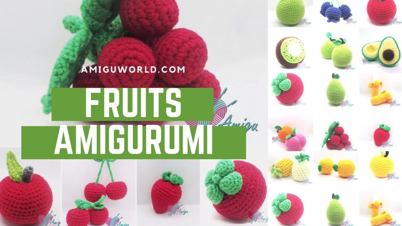 FREE Pattern – How to crochet FRUITS amigurumi