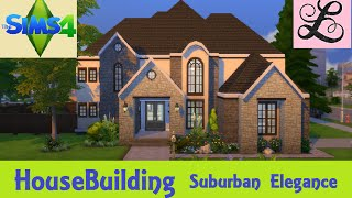getlinkyoutube.com-The Sims 4: House Building - Suburban Elegance
