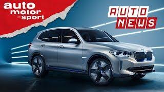 BMW iX3: Vollelektrisch, volle Reichweite?- NEWS I auto motor und sport