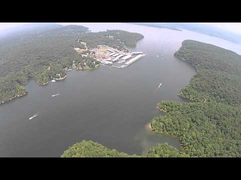 DJI Phantom 2 Vision Plus Hanging Out Near Grand Harbor Pickwick Lake