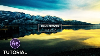 Create an Amazing IMAGE SLIDE SHOW in AFTER EFFECTS | TUTORIAL | (www.Filmyeffects com)