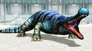 getlinkyoutube.com-Jurassic Park Builder - Deinosuchus Battle [Final Evolution] [DNA]