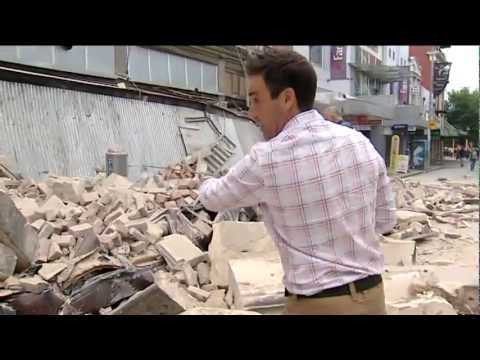 Christchurch Earthquake Feb 2011 - Hamish Clark TV3 New Zealand