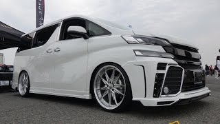 getlinkyoutube.com-(4K)M`s Speed TOYOTA 30 VELLFIRE 2015 トヨタ・30系ヴェルファイア - スーパーカーニバル2015