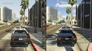 Grand Theft Auto 5 Xbox 360 vs. PS3 Gameplay Frame-Rate Tests