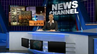 getlinkyoutube.com-Virtual Reality Set - News Background Demo