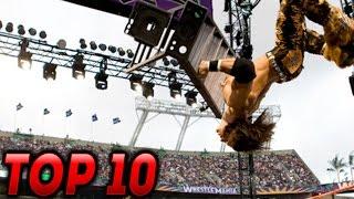 getlinkyoutube.com-Top 10 WWE Ladder Moments